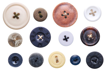 Photo sur Plexiglas Macarons old-fashioned buttons