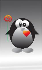 Влюбленный  пингвин