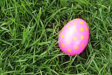 Spotted easter egg