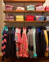 cloths in a shop