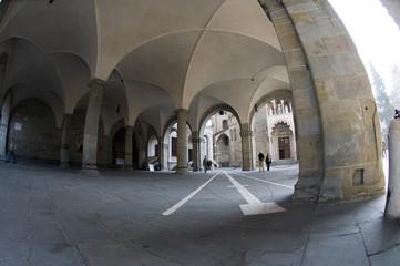 portico del palazzo della signoria