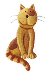 Cute brown cat