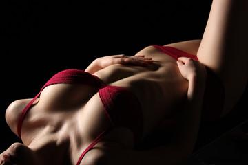 erotischer Frauenkörper