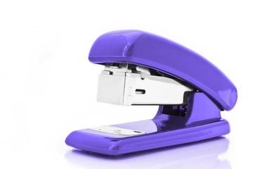 Purple stapler