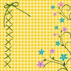 Spring Gingham Graphic