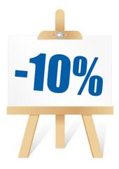 Chevalet -10%