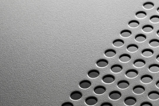Hole punched metal