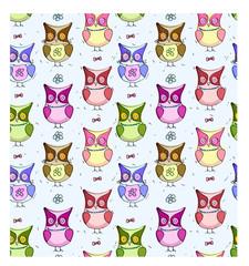 Fun owl background