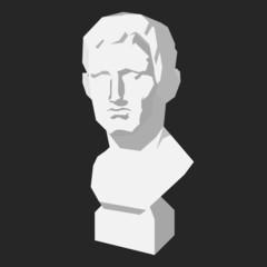 plaster figure