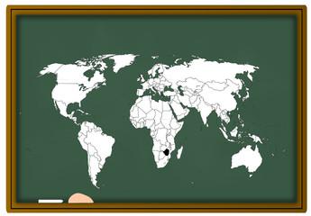 Weltkarte Vector für die schule