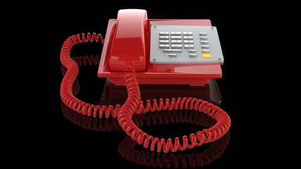 Emergency red phone