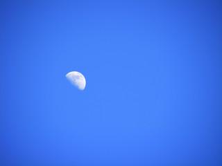 Luna en el firmamento