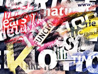 In de dag Kranten abstract background with text
