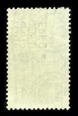 Background Postage stamp.
