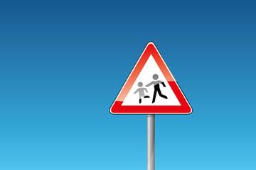 Verkehrszeichen 136-10 Kinder