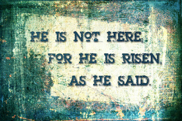 """""""He Is Risen"""" Religious Background"""