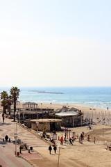 Seaside resort in Tel Aviv / ISRAEL