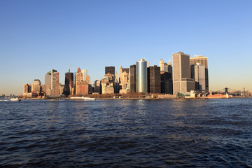landscape of Manhattan