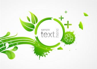 Ecologie fond vert