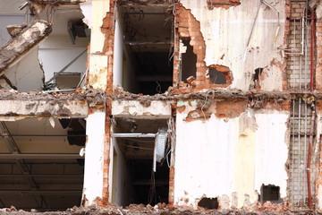 abgerissen altes Haus