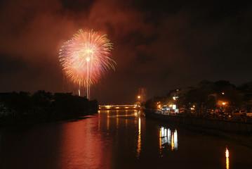 Fireworks at thailand