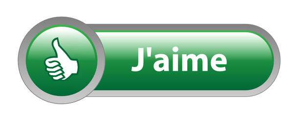 Bouton Web J'AIME (partager satisfaction recommander voter like)