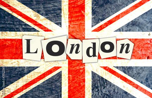 Drapeau anglais london photo libre de droits sur la - Image de londres a imprimer gratuit ...
