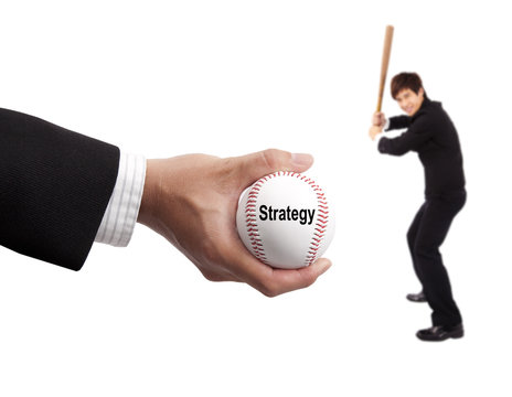 Business strategy concept.
