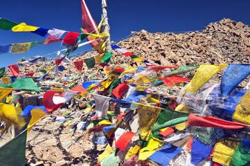 Mountain range, Leh, Ladakh, India