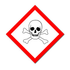 GHS Symbol Acute Toxicity sign