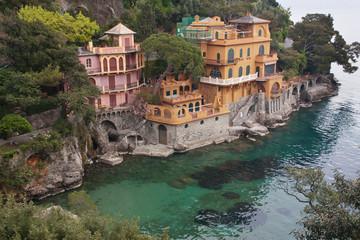 Italian sea near Portofino