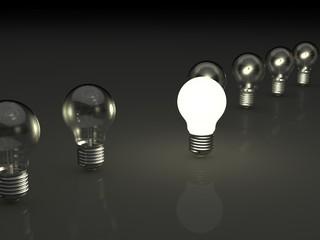 electric bulb concept