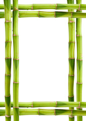 Picture frame bamboo
