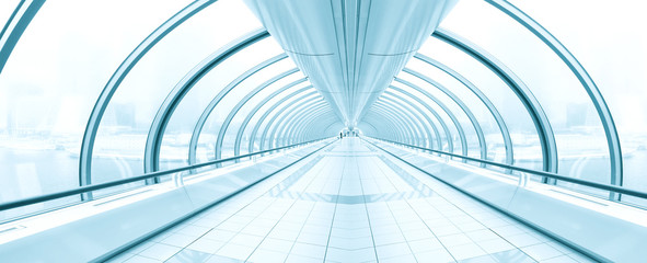 Photo sur Toile Aeroport contemporary airport interior
