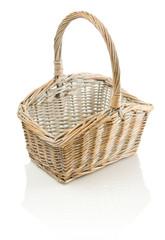 one basket isolated