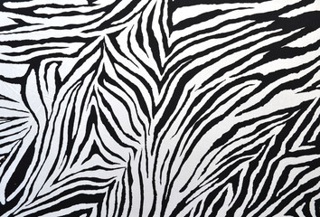 zebra style fabric