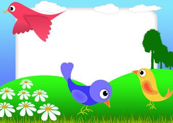 Bird scrapbook