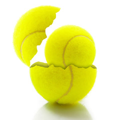 pallina da tennis con sorpresa