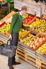 Man Buying Fruit