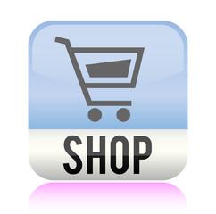 Shop Einkauf Button