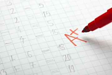 grade a examination math school education