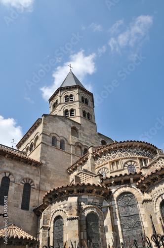 La basilique notre dame du port clermont ferrand zdj stockowych i obraz w royalty free w - Basilique notre dame du port ...