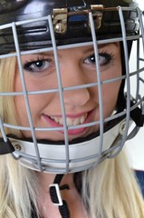 woman hockey
