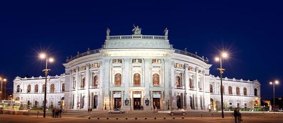 Fond de hotte en verre imprimé Vienne Burgtheater Wien