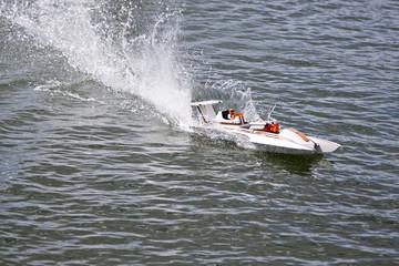 Tuinposter Water Motor sporten speed boat