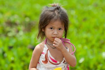 Portrait Mädchen von Asien