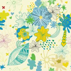 flover spring lovely pattern1
