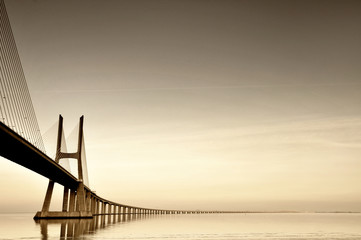 Canvas Prints Bridge Bridge