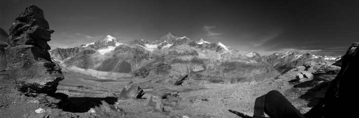 Obraz Alpy - fototapety do salonu