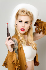 Pinup Cowgirl